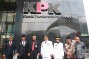 Gubernur AGK dan Wagub Diajak Mendagri ke KPK