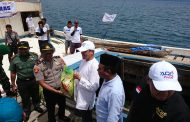 UBN Resmi Lepas Kapal Pangan untuk Gane Luar