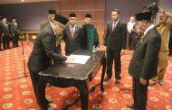 Gubernur Lantik Pj. Sekda Yang Baru