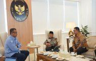 Lagi, Gubernur AGK Minta Menteri KP Bangun Dermaga Pengawasan Perikanan