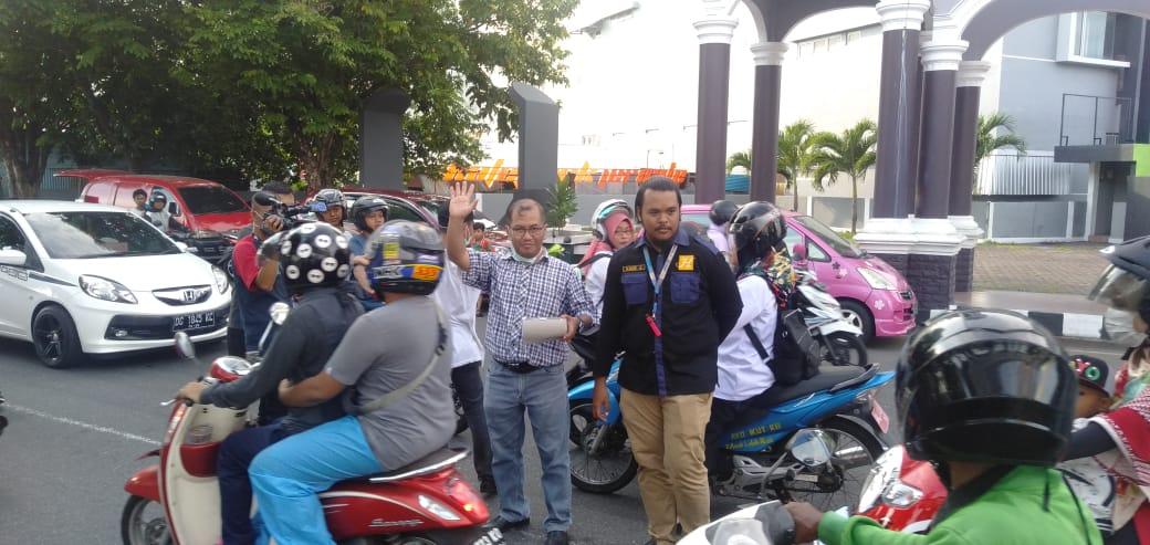 Cegah Corona, Harita Nickel dan Jurnalis Malut Bagikan Masker Gratis