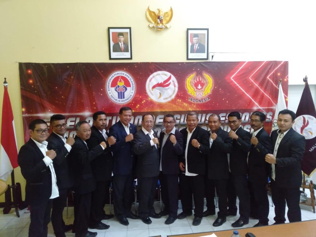 Sekprov Syamsudin Pimpin e-Sport Maluku Utara