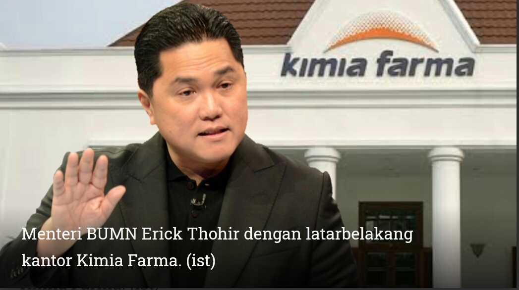 KPK Diminta Usut Dugaan Kimia Farma Dalam Pusaran Mafia Alkes