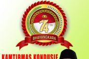 Dinas Perumahan dan Kawasan Permukiman Provinsi Maluku Utara Mengucapkan Selamat Hari Bhayangkara ke-74
