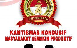 Pemerintah Provinsi Maluku Utara Mengucapkan Selamat Hari Bhayangkara ke-74