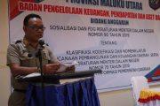 Sekprov Buka FGD Perencanaan Keuangan dan Sistim Informasi Pemda