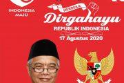 Keluarga Besar Dinas Perkim Maluku Utara Mengucapkan Dirgahayu Ke-75 Kemerdekaan NKRI