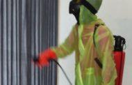Rabithah Alawiyyah Depok Gelar Penyemprotan Disinfektan ke Rumah Warga