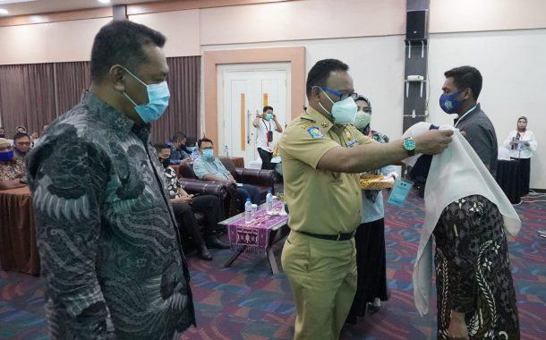 Sekprov Buka Rakor dan Sinkronisasi Dinas Perhubungan Se-Provinsi Maluku Utara.