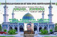 BERITA IKLAN : PLT Kepala BPKAD Halmahera Timur Ucapkan Selamat Hari Raya Idul Fitri 1442 Hijriyyah