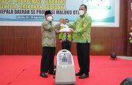 Usman Terima Bantuan Alkes dan Obat dari Jokowi