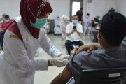 Bojongsari  Gebyar Vaksinasi Covid-19 Tahap Tiga