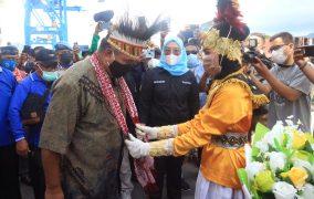 Kafilah STQ Papua Barat Tiba di Ternate